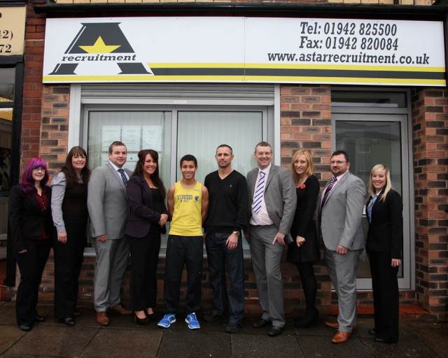 Matty Shirling and the A Star team